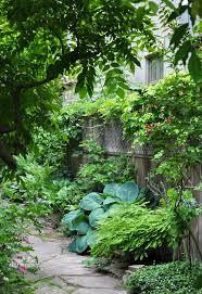 Backyard Flower Garden Ideas Gardening Ideas For The Narrow Garden Between Suburban Homes