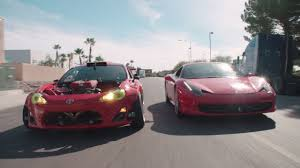 lifted ferrari ferrari powered toyota gt 4586 fires up 95 octane