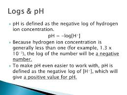 6 4 u2013 the ph scale unit 6 u2013 acids and bases ppt download