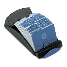 Business Card File Rol67186rr Rolodex U201e Open Tray Business Card File 100 Sleeves