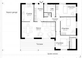 plan maison simple 3 chambres architecte maison plan maison gratuit con plan de maison simple 3