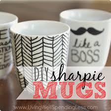 homemade mugs sharpie crazy homemade