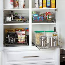 High Line Kitchen Pull Out Wire Basket Drawer Pantry Pullout Shelves And Baskets View And Reach Items In The