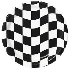 Checkered Racing Flags Racing Car Driver Party Supplies Rally Car Theme Party Kit U0027n