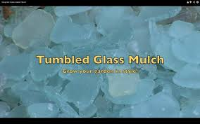 Where To Buy Rocks For Garden by Make Tumbled Sea Glass Garden Mulch Youtube
