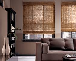 getting the natural feeling with bamboo roman shades blinds