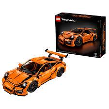 lego technic porsche 911 gt3 rs купить lego technic 42056 porsche 911 gt3 rs в интернет магазине