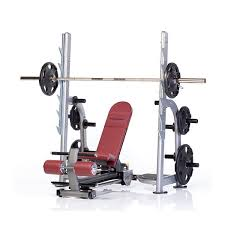 Weight Bench With Bar - tuff stuff weight bench ppf 711 4 way olympic bench