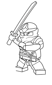 printable coloring pages lego ninjago coloring pages in lego