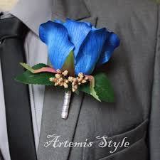 Royal Blue Corsage And Boutonniere Corsage Box Picture More Detailed Picture About Rose Boutonniere