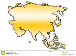 Map Asia Blank by Asia Outline Map Royalty Free Stock Images Image 27382509