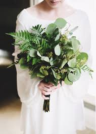 wedding flowers greenery eucalyptus ferns greenery wedding bouquet brides