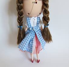 dorothy wizard of oz costume for blythe u0026 pullip dolls brown