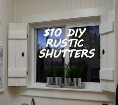 create your own beautiful window treatment with this diy rustic