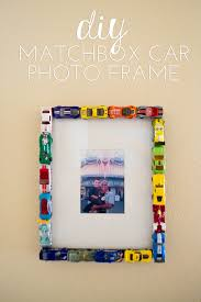 matchbox cars diy matchbox car photo frame our holly days
