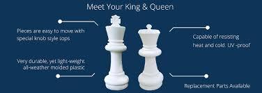 buy chess set 25 giant chess set