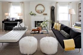 ottoman ideas for living room impressive room pouf ottoman ideas room eclectic with drywall
