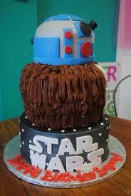 star wars birthday cakes r2d2 cake chewbacca birthday cakes
