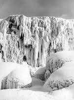 niagara falls frozen early 1900s