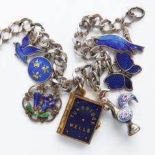 vintage charm bracelet charms images Antique and vintage rainbow charms silver star charms jpg