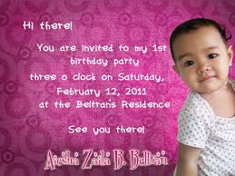Baby Boy First Birthday Invitation Cards Jeanbeltran Aiesha Celebrates Her First Birthday With Jollibee