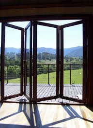 Pocket Sliding Glass Doors Patio by Exterior Bifold Windows Doors For The Master Leading To The Back