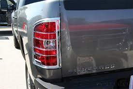 custom truck tail lights chrome tail lights covers