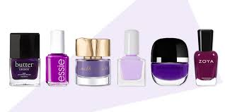 9 best purple nail polish colors for fall 2017 lavender and plum