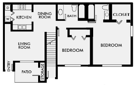 two bed two bath floor plans 1 2 3 bedroom apartments for rent in gulf shores al sweetwater