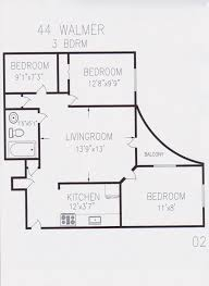toronto general hospital floor plan 44 walmer road berkley property management