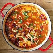 cuisiner haricots rouges recette ragoût épicé au poulet et aux patates douces toutes les