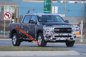 jeep truck 2019 2019 ram 1500 pickup spy shots show more than before
