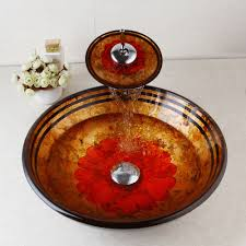 bathroom bathroom sink bowls vessel sink and faucet combo