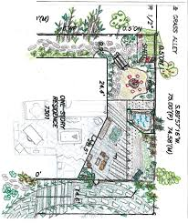 shabby glam my backyard plan goes from my head to paper