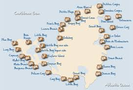map of st martin beaches of st martin and st maarten an island of 36 beaches