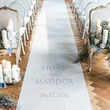 aisle runner contemporary personalized wedding aisle runner candy cake weddings