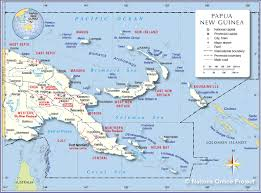 Definition Of Political Map Political Map Of Papua New Guinea Nations Online Project