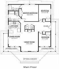 architectural home plan 99 home plan