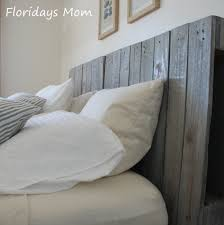 reclaimed wood headboard king peaceful design grey wood headboard home designing