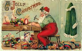 vintage christmas cards chestnut esl efl