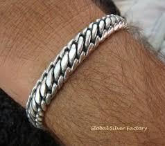 sterling silver bracelet designs images Sterling silver curb design men 39 s bracelet mj 119 ssf mj 119 ssf jpg