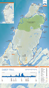 Halifax Canada Map by Cabot Trail Cycle Nova Scotia