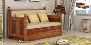 sofa elegant wooden sofa designs with storage bed design