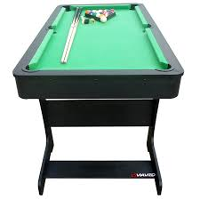 4ft pool table folding viavito pt100x 5ft folding billard pool table with accessories