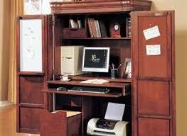 Home Office Desk Armoire Armoire Desks Home Office Computer Desk Cabinet S Corner Computer