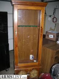 Glass Gun Cabinet Armslist For Sale 6 Slot Gun Cabinet