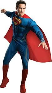 Mens Halloween Costumes Amazon Amazon Rubie U0027s Costume Man Steel Deluxe Muscle Chest