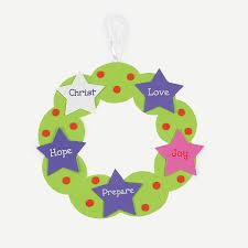 advent wreath craft kit cute diy crafts christmas pinterest