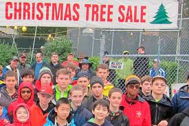 bellevue boy scouts u0027 christmas tree lot open through dec 18