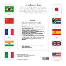 Flags For Sale South Africa Brainsmith Quantum Cards Kids Education Fun Learning My Baby